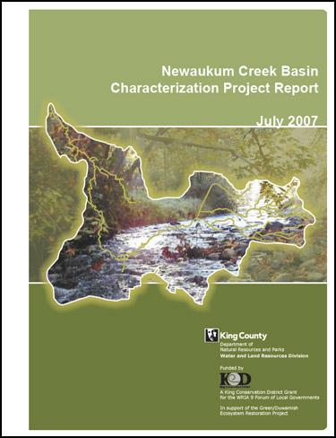 Newaukum Creek Basin Characterization Project Report