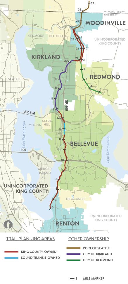 eastside rail corridor - regional trail