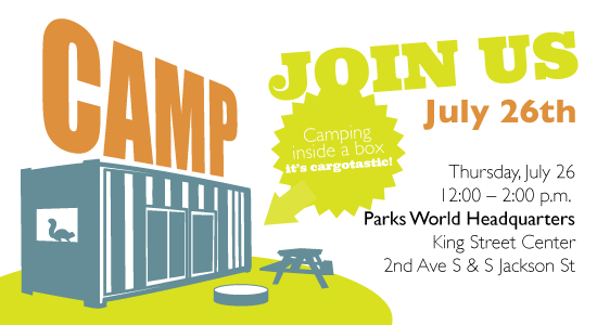 King County Parks: Container invite