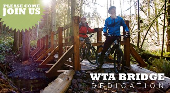 WTABridge dedication at Grand Ridge