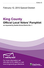 Local voters' pamphlet cover