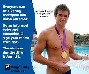 Informed Voter celebrity ad campaign
