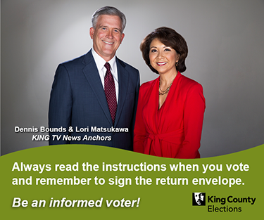 Informed Voter Celebrity Ad Campaign